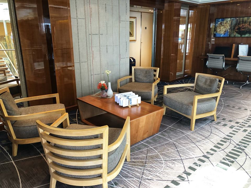 Viking river cruise tips business lounge