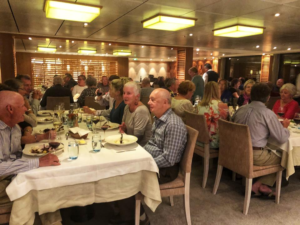 Viking river cruise tips dining room