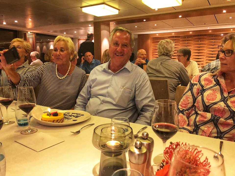 Viking river cruise tips birthday party