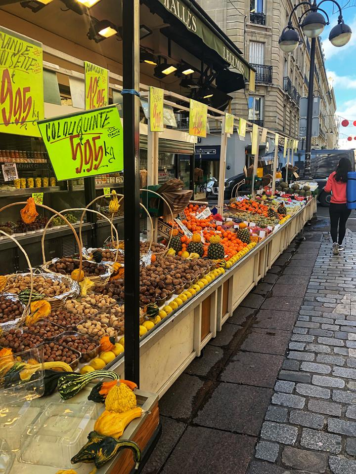 First time in Paris outdoor market