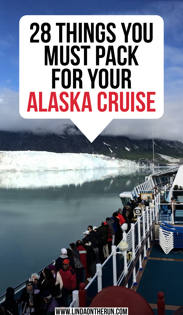 The Ultimate Alaska Cruise Packing List