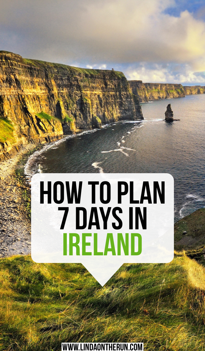 How To Plan 7 Days In Ireland   The Ultimate 7 Day Ireland Itinerary   Ireland travel tips   visiting the Cliffs Of Moher on your Ireland Itinerary   7 days in Ireland   Tips for Ireland travel