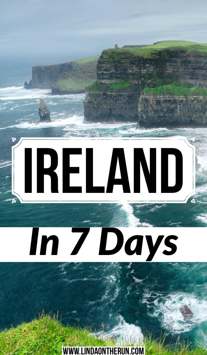 Ireland in 7 days itinerary