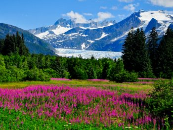 Beautiful Alaska scenery as you will see during your alaska itinerary