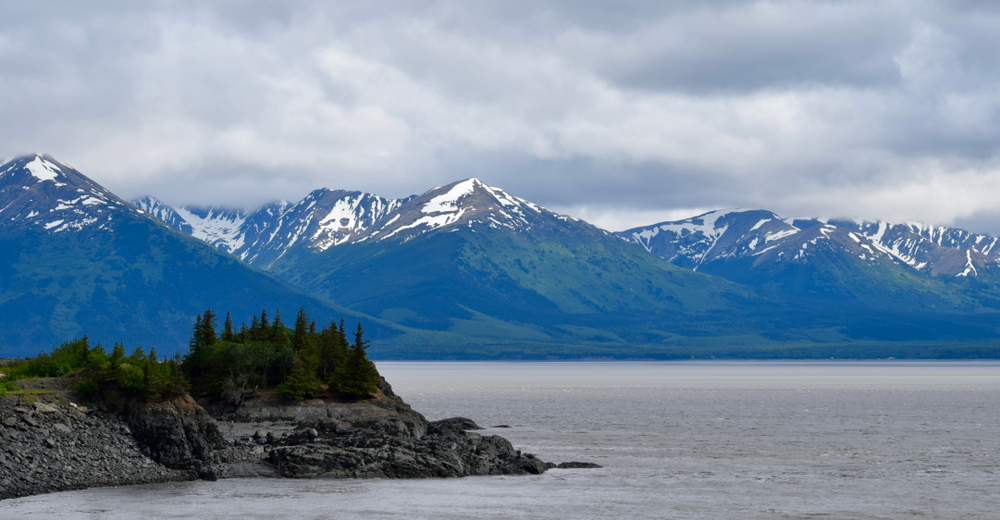 Anchorage to Seward Beluga Point