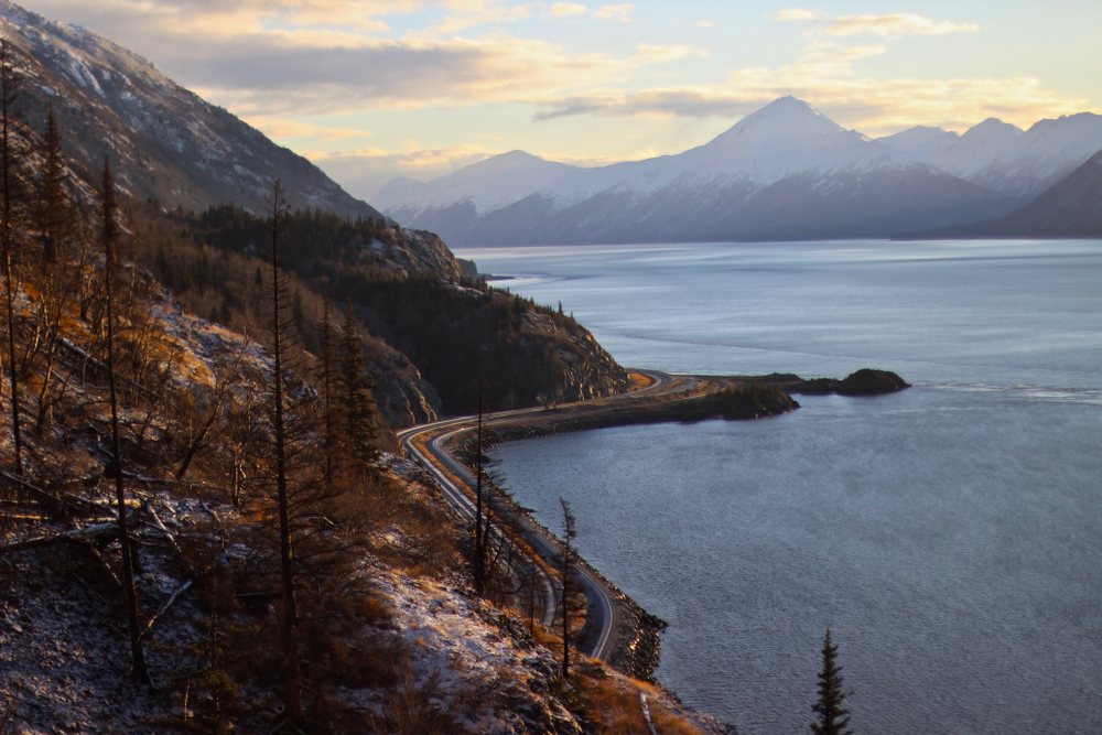 Anchorage to Seward Highway
