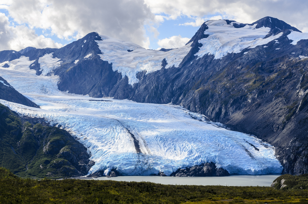 Anchorage to Seward Portage Glacier