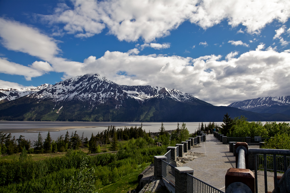 Anchorage to Seward bore tide viewing