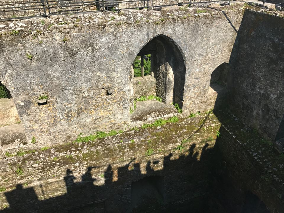 Kiss the Blarney Stone Top of Castle