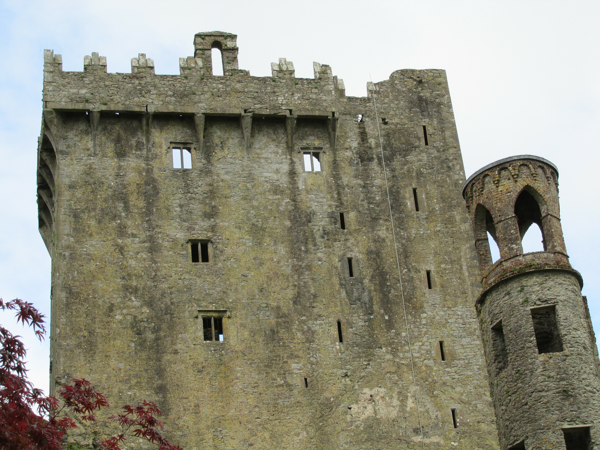 Kiss the Blarney Stone location