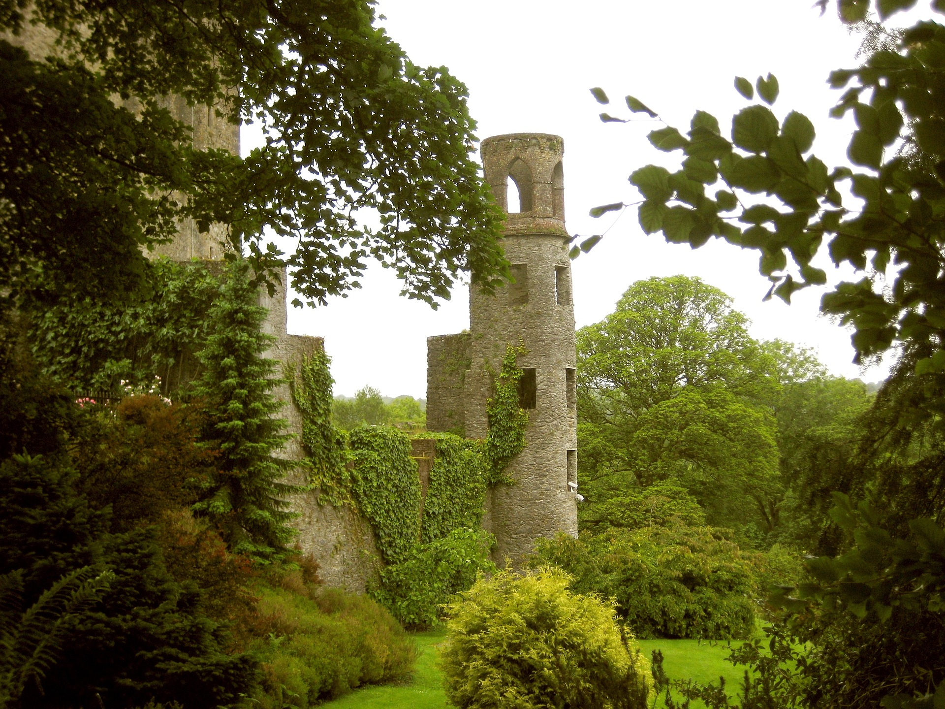 Kiss the Blarney Stone lush grounds