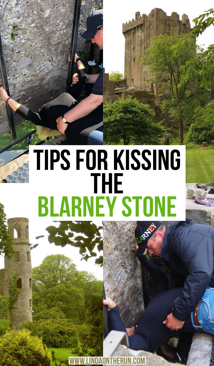 tips for kissing the blarney stone