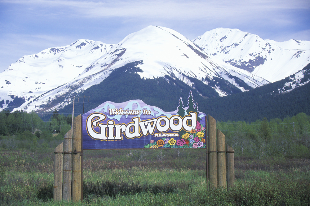 towns in Alaska Girdwood