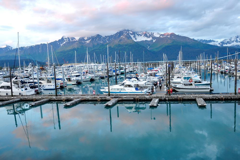 towns in Alaska Seward boats