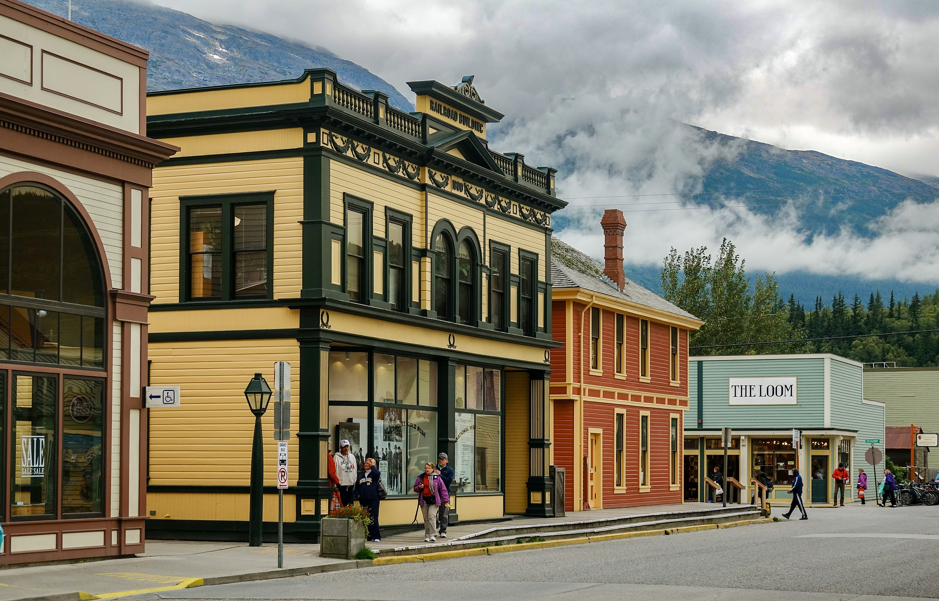 towns in Alaska Skagway 2