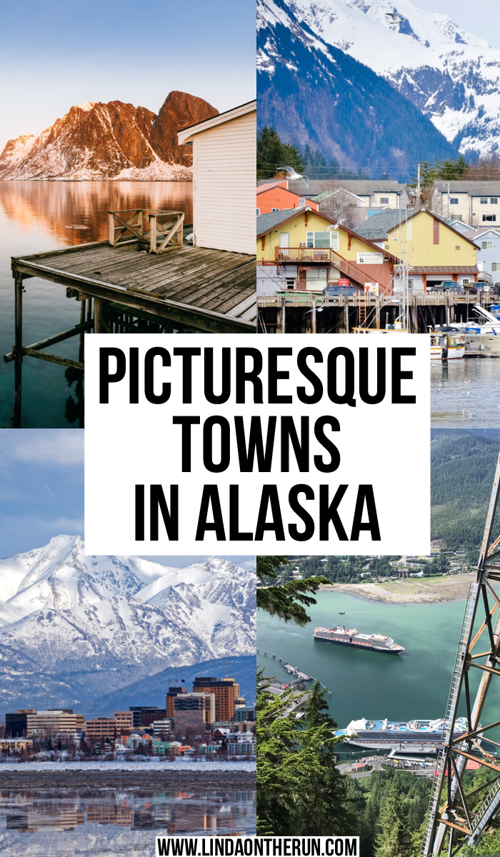 Picturesque towns in Alaska
