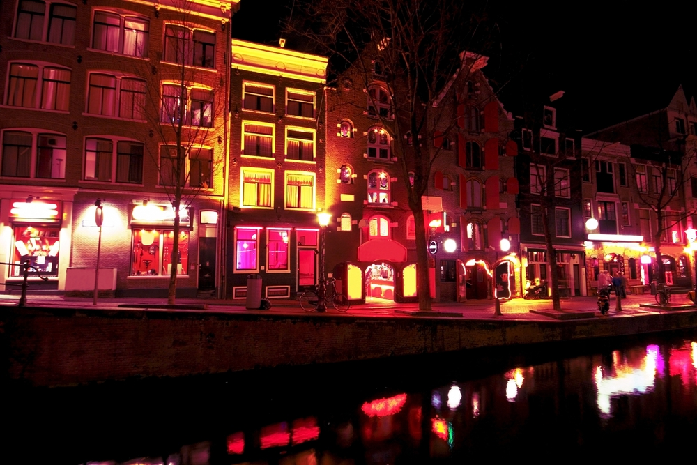 2 days in Amsterdam red light district