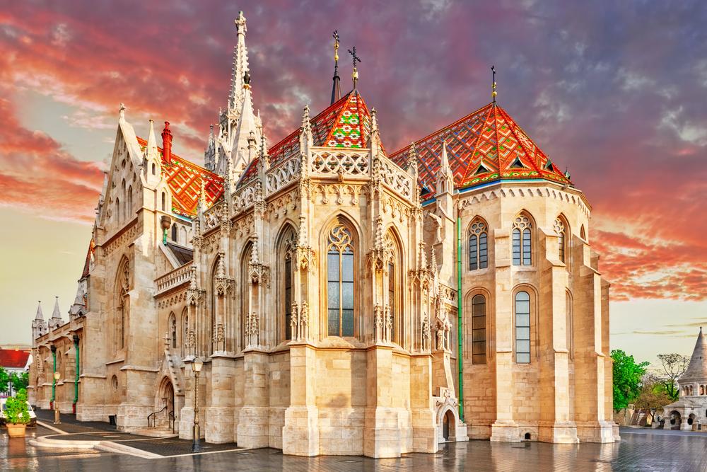 2 days in Budapest Matthias Church