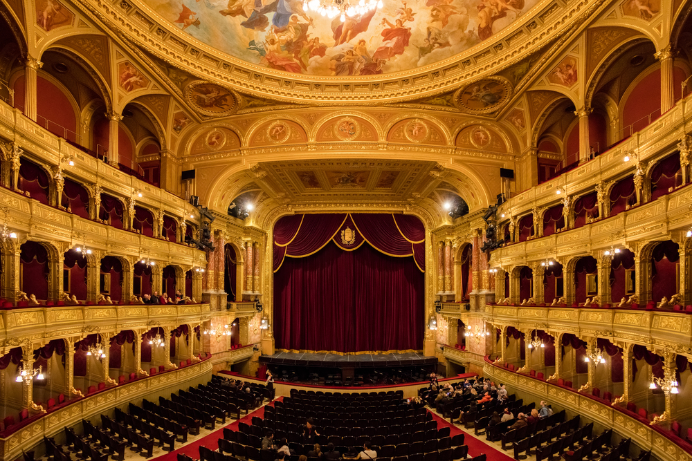 2 days in Budapest Opera House