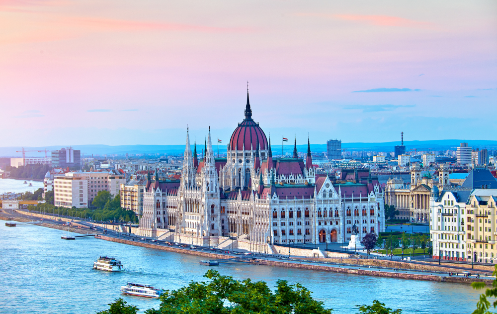 2 days in Budapest Parliament