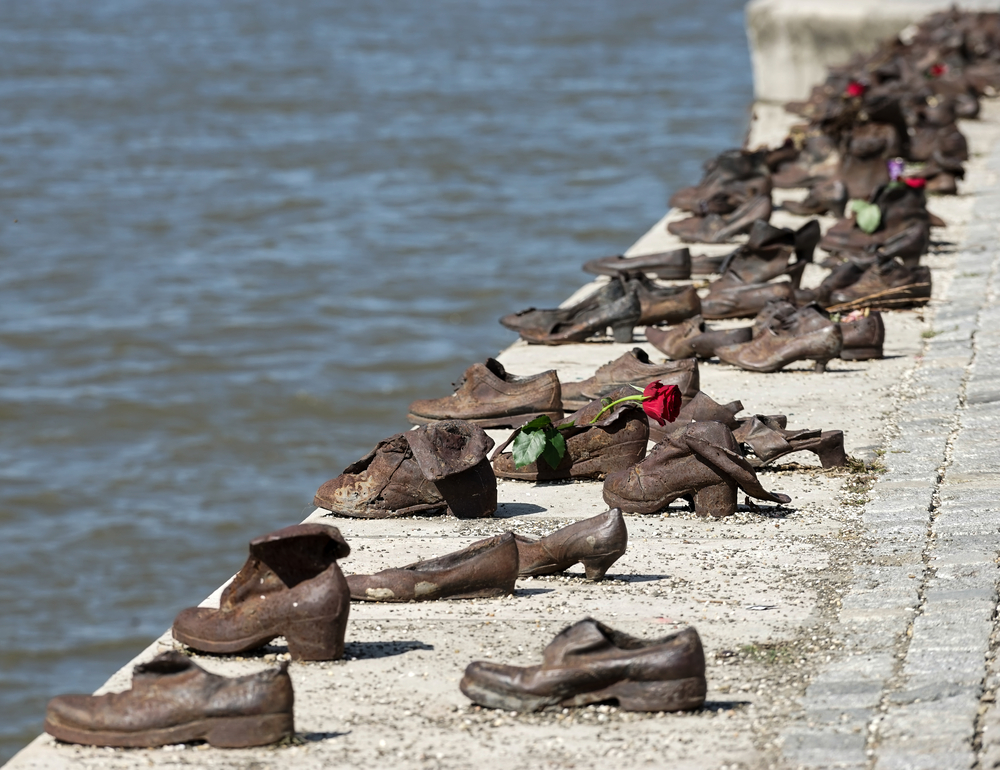 2 days in Budapest Shoes of the Danube