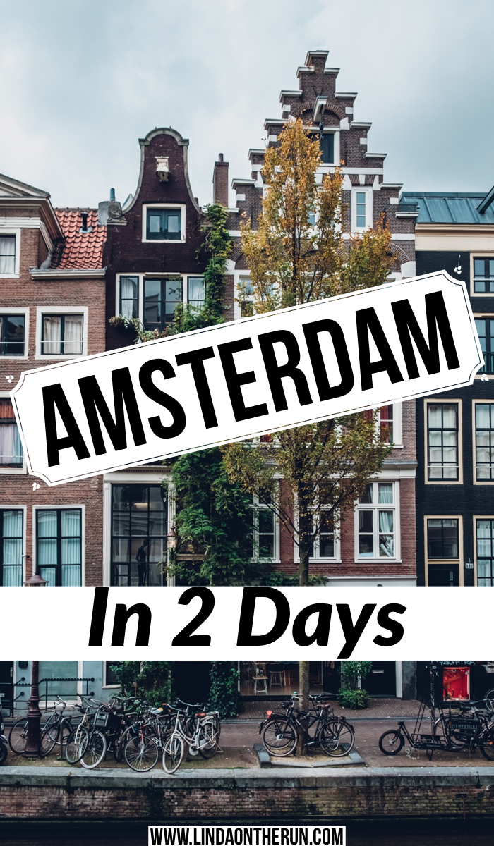 Amsterdam in 2 days