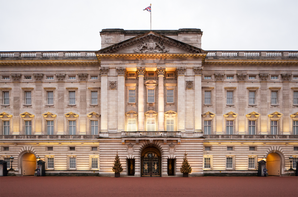 Beautiful places in London Buckingham Palace