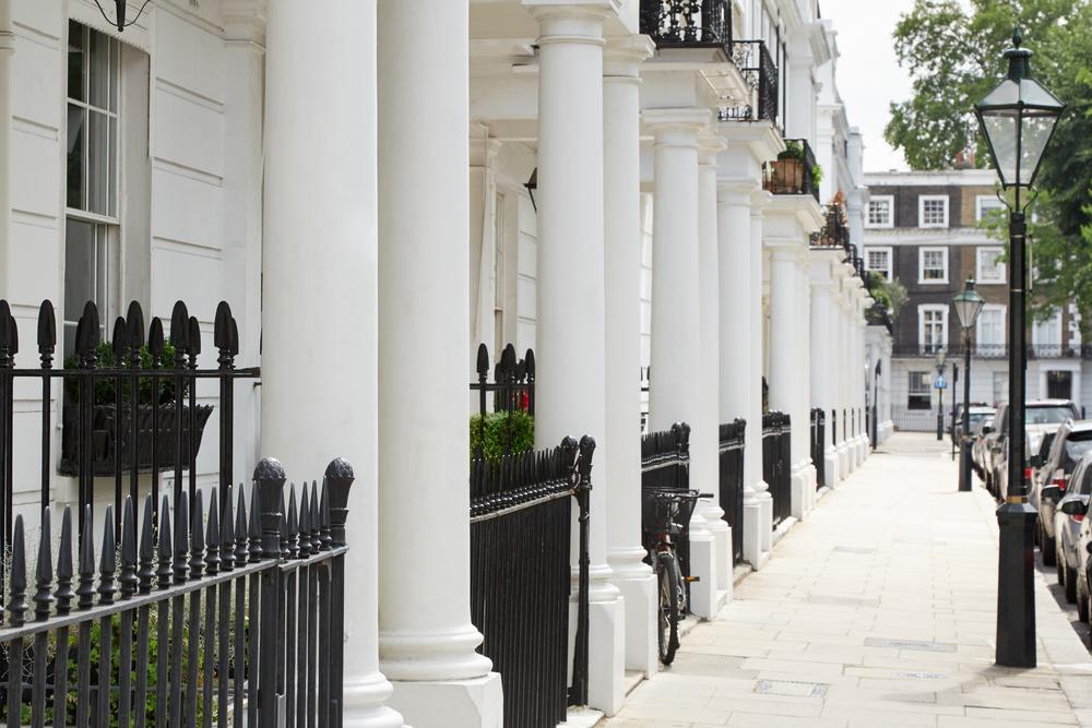 Beautiful places in London Kensington