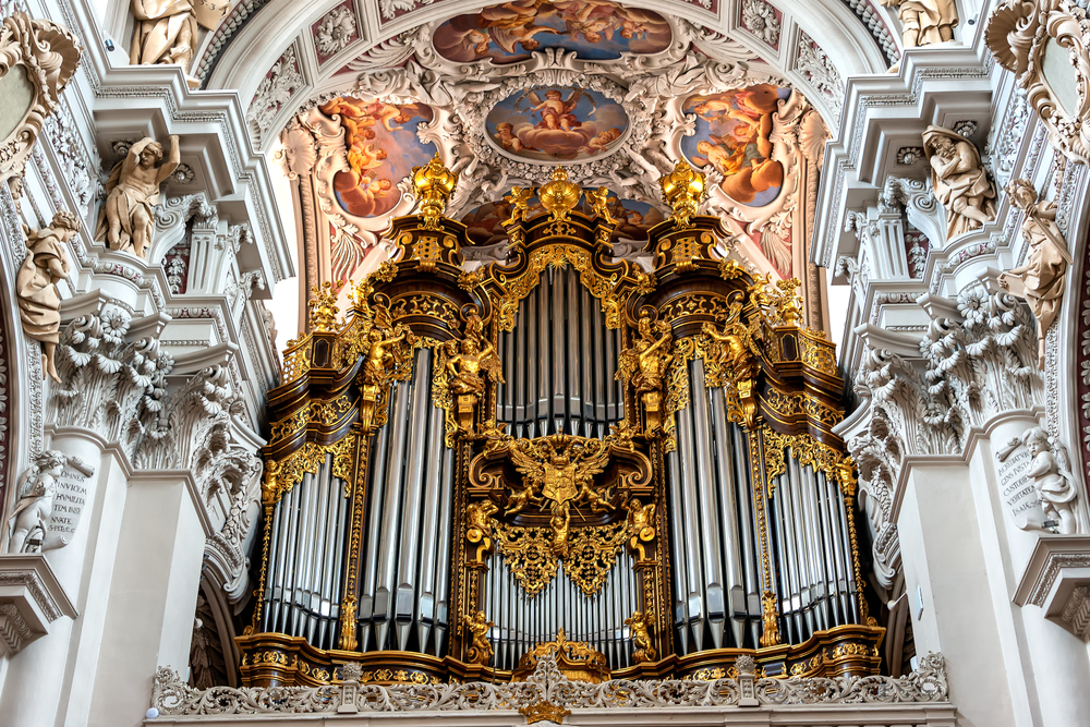 Passau Germany St Stephen Cathedral organ