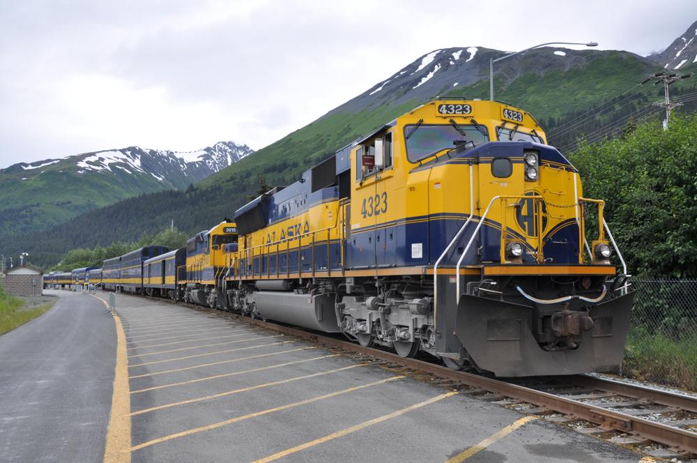 Seward Alaska train