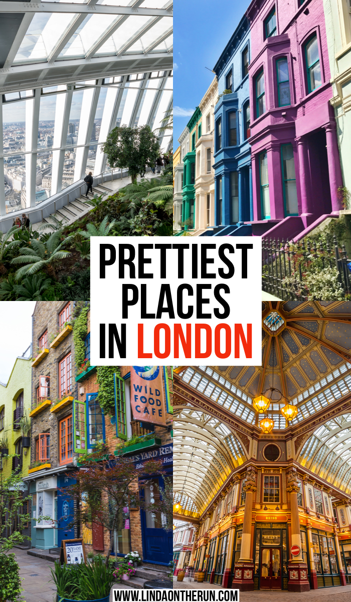 Prettiest places in London