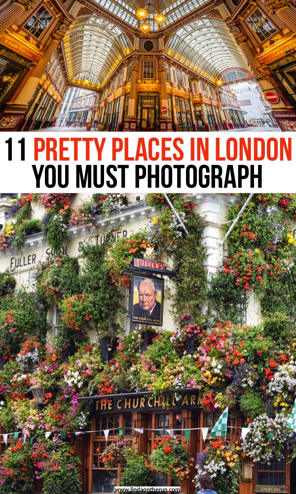 Pretty places in London you must photograph