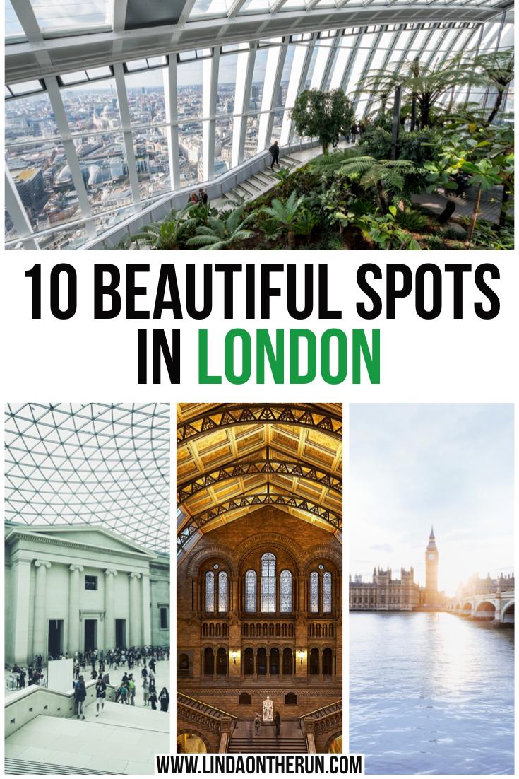 10 beautiful spots in London
