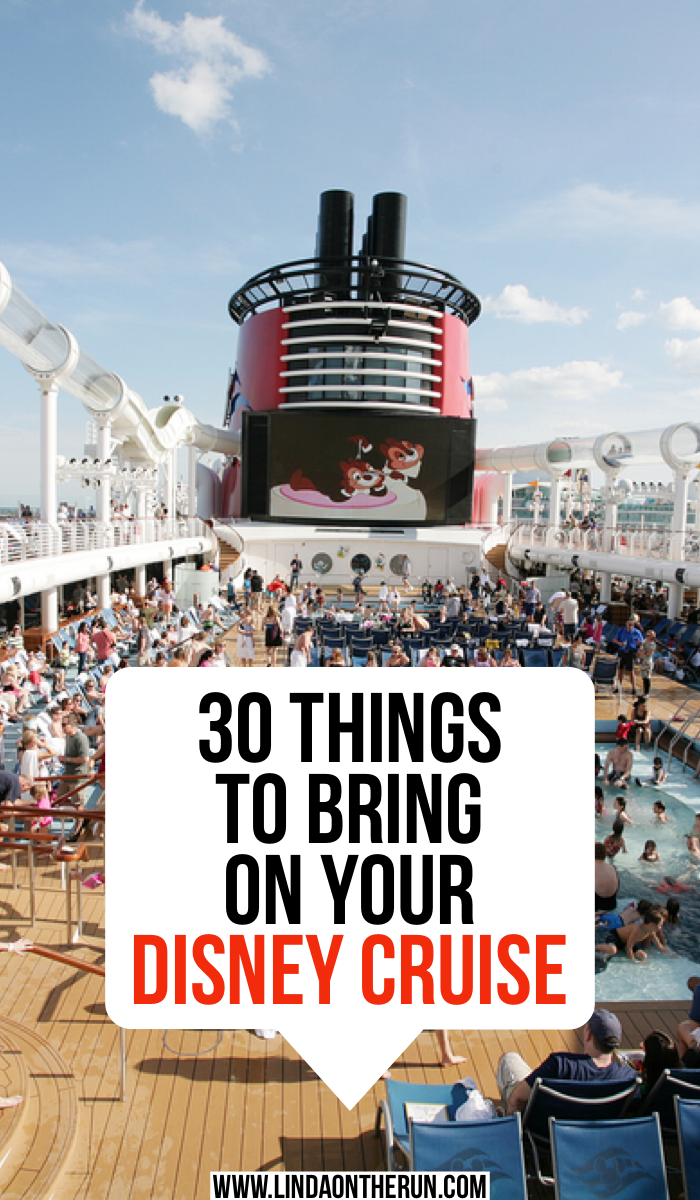 30 things to bring on your Disney Cruise