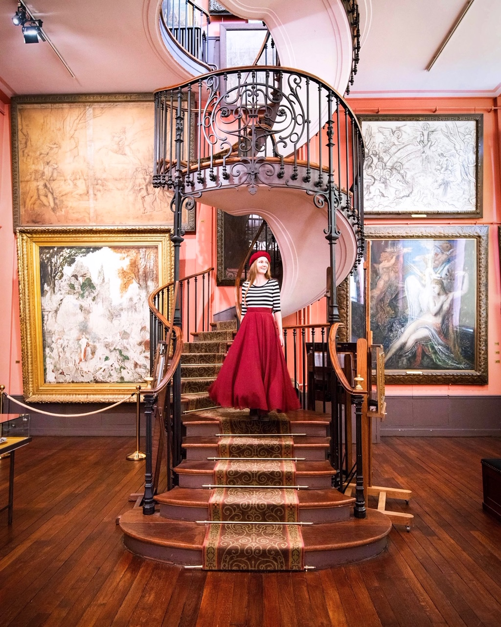 Unusual things to do in paris Gustavo Moreau Museum