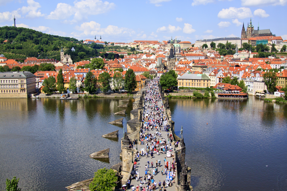 2 days in Prague Charles Bridge