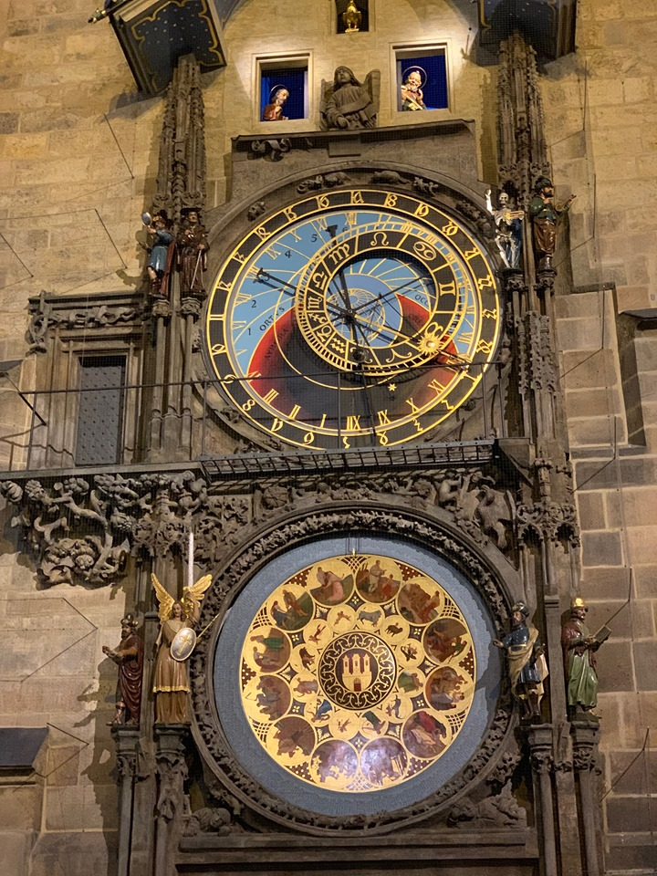2 Days in Prague astronomical clock