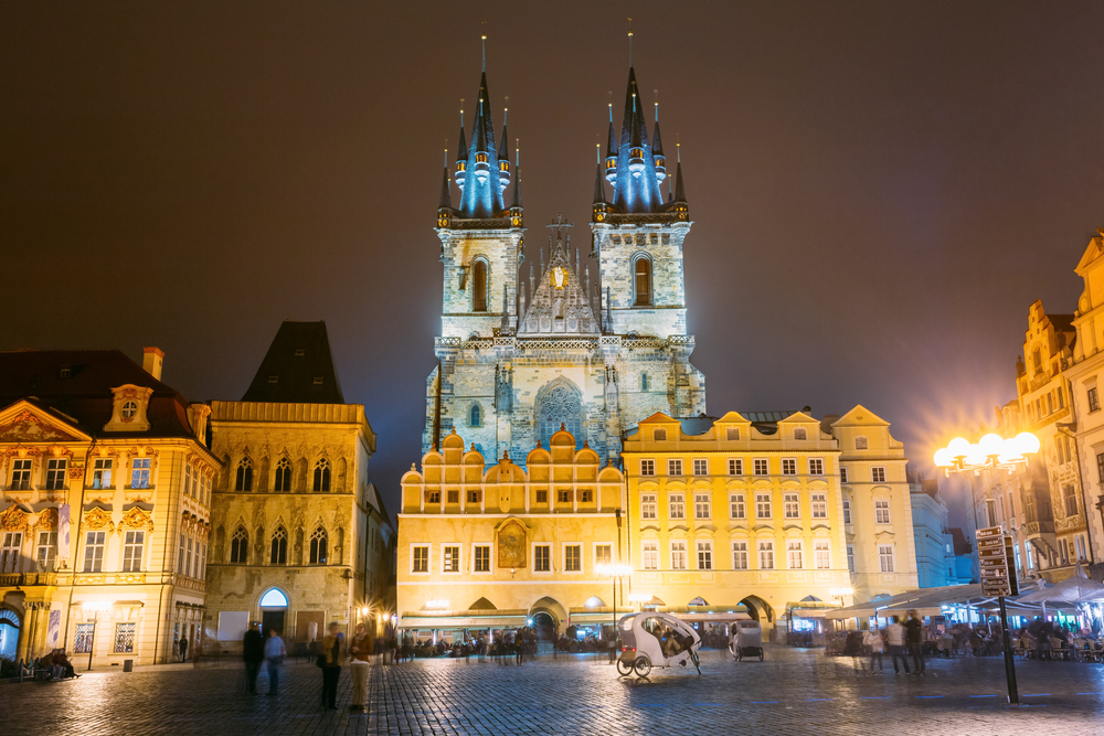 2 Days in Prague Church of Our Lady before Tyn