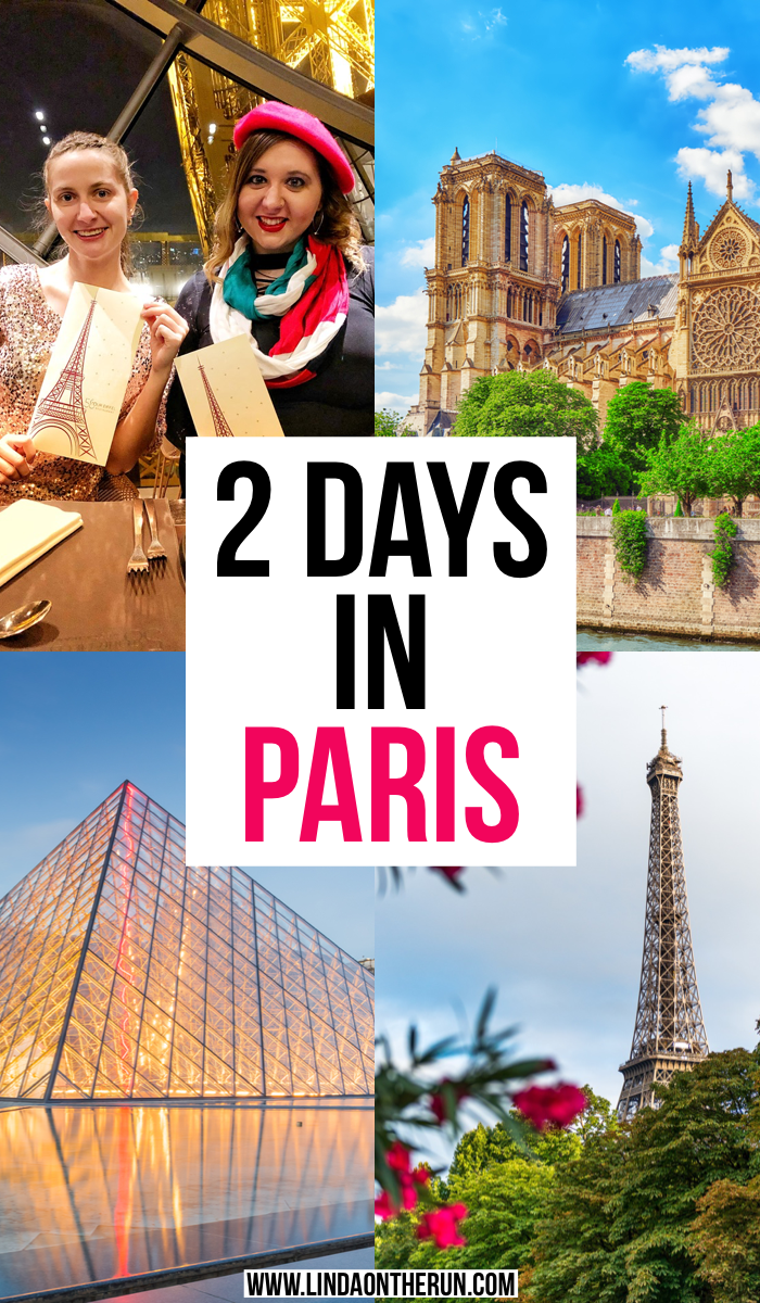 2 days in paris itinerary for pinterest