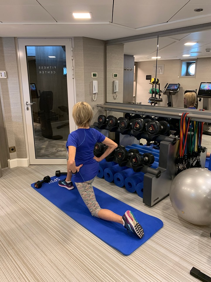 Crystal River Cruises gym