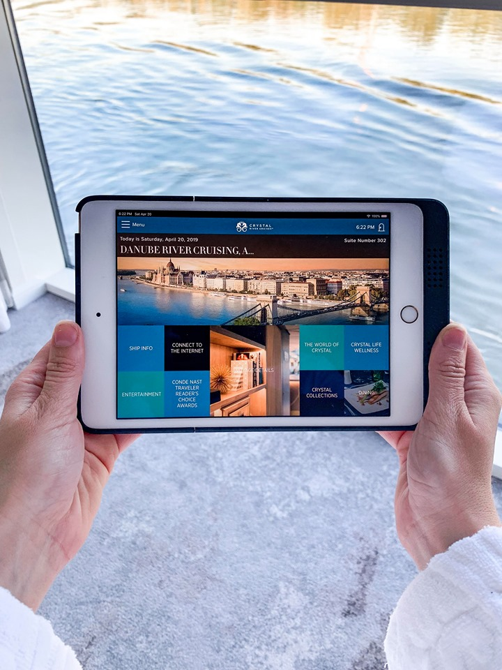 Crystal River Cruises iPad