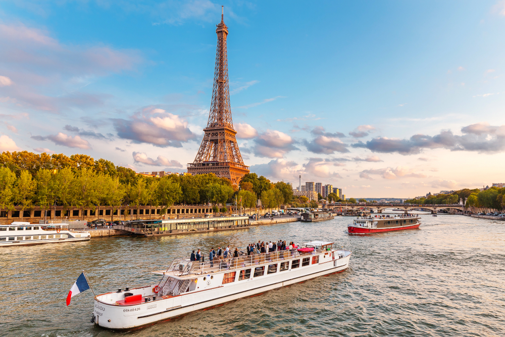 A River Seine cruise is a great thing to do when in Paris