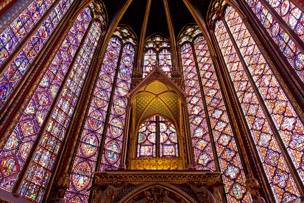 Sainte Chapelle is dazzling add it to your 4 days in Paris itinerary