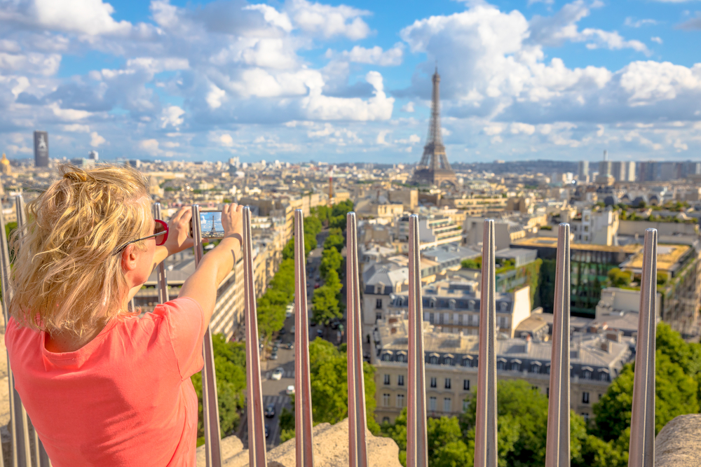 Arc de Triomphe observation deck is a great option to put on your 4 days in Paris itineraary
