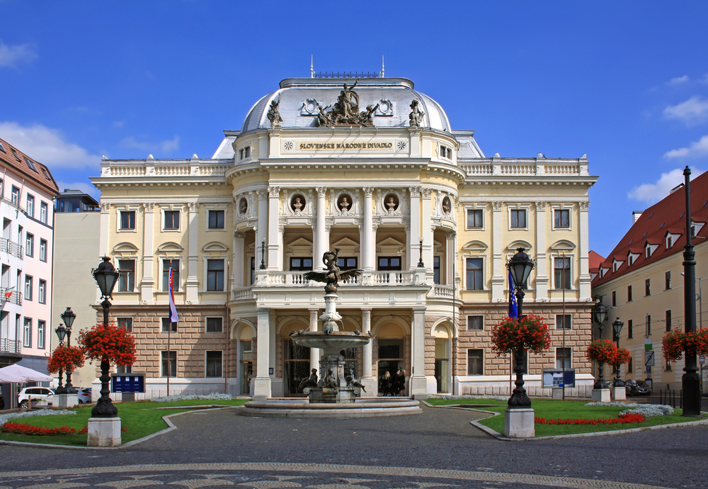 things to do in Bratislava is seeing the old Slovak National Theater