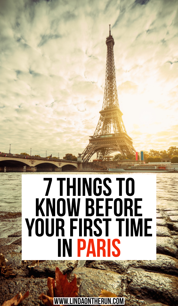 7 things to know in your first time in Paris