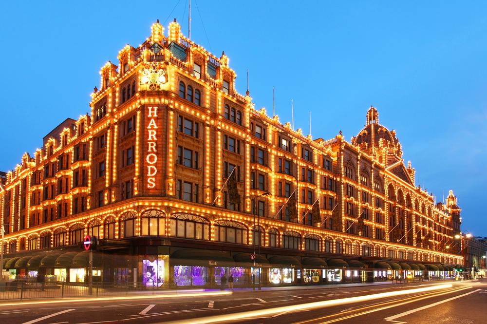 1 day inn London Harrods Department Store