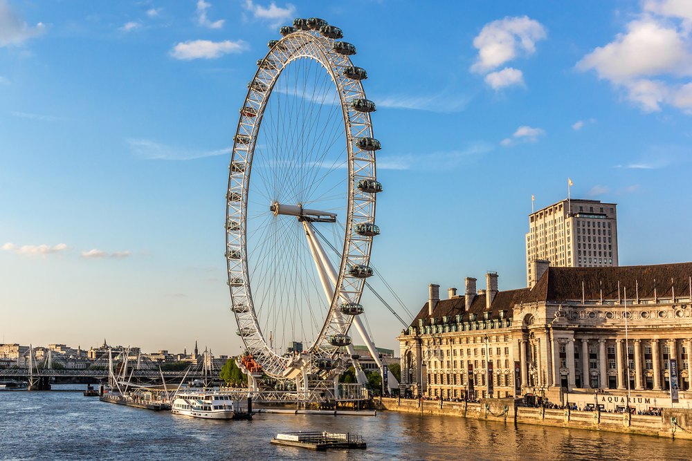 1 day in London The London Eye