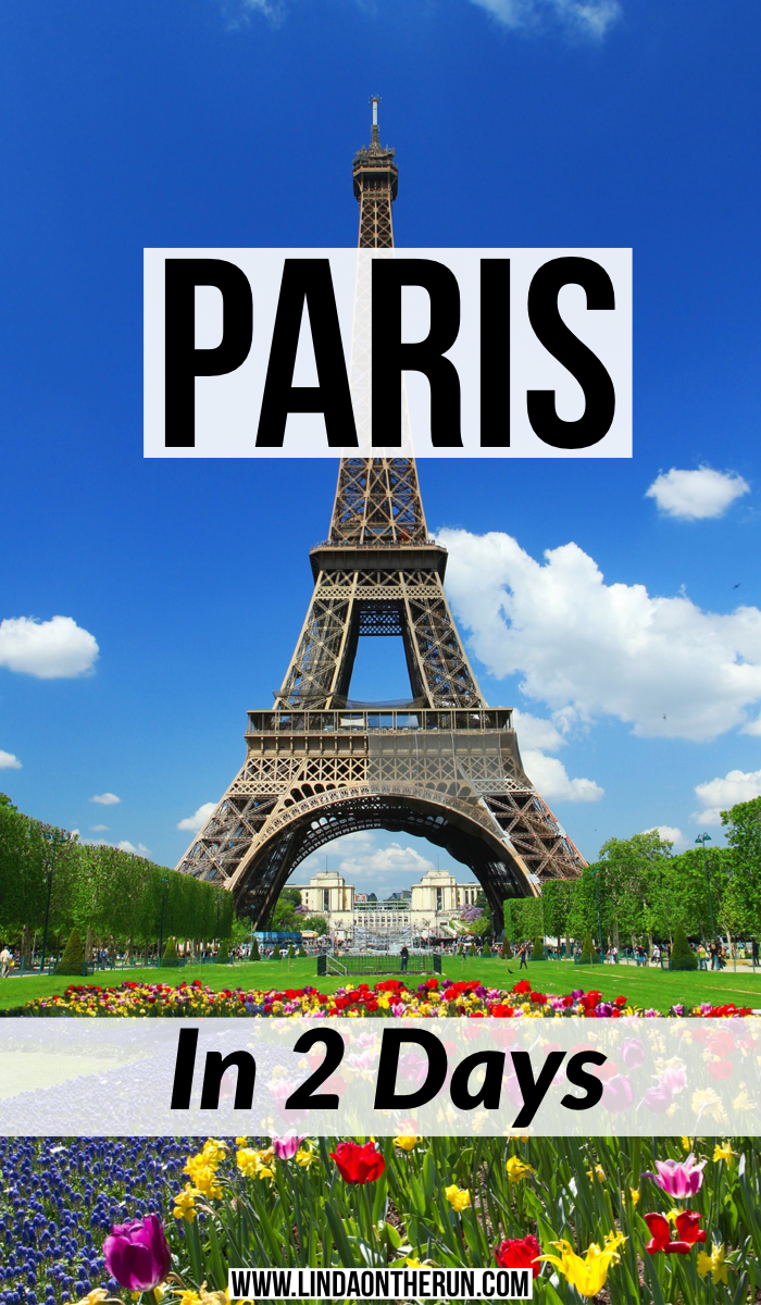 Paris in 2 days itinerary