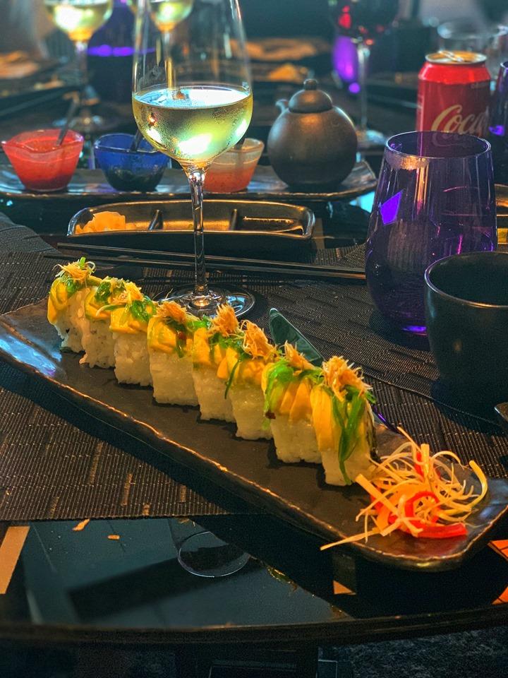 Holland America Mediterranean Cruise Vegan sushi